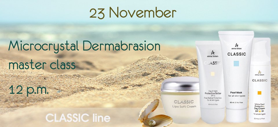Microcrystal Dermabrasion master class